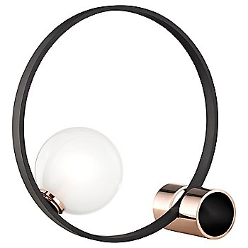 Shown in Polished Copper / Black finish
