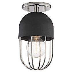 Haley Semi-Flush Mount Ceiling Light
