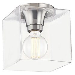 Grace Square Flush Mount Ceiling Light