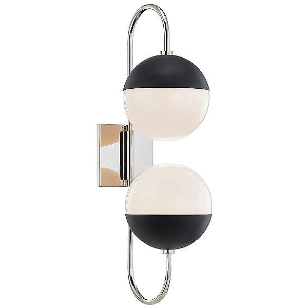 Renee Two Light H344102B Wall Sconce