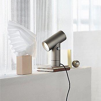 Aluminium color / in use