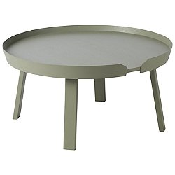 Around Coffee Table by Muuto (Dusty Green) - OPEN BOX RETURN