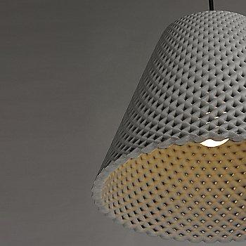 Gray and Black  finish / Small size / illuminated / Detail view