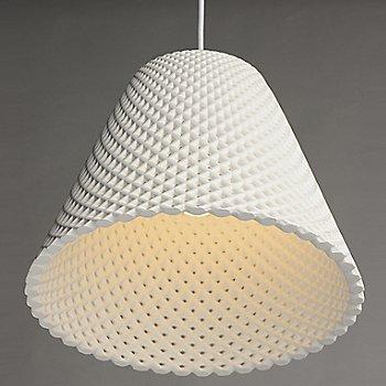 White  finish / Small size / illuminated / Detail view