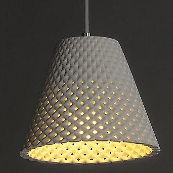 White  finish / Small size / illuminated