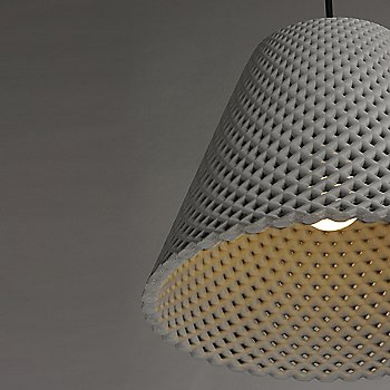 Gray and Black  finish / Medium size / illuminated / Detail view