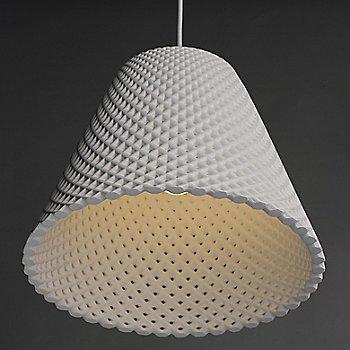White finish / Medium size / illuminated / Detail view
