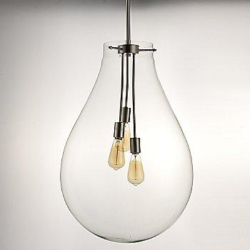 Satin Nickel finish / Large size / illuminated