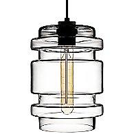 Delinea Pendant Light by Niche Modern(Clear)-OPEN BOX RETURN