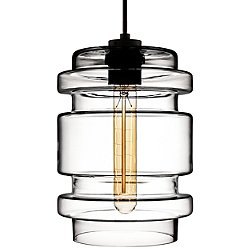 Delinea Pendant Light by Niche Modern(Clear)-OPEN BOX RETURN