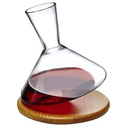 Balance Wine Decanter with Wooden Base