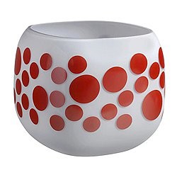Mono Apfel Dotted Box Vase