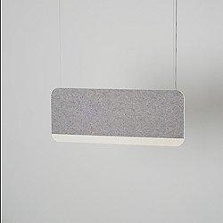 Slab 90 LED Pendant Light (LED 3000K/Grey) - OPEN BOX RETURN