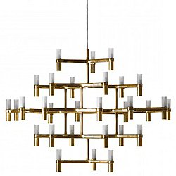 Crown Major Chandelier (Gold) - OPEN BOX