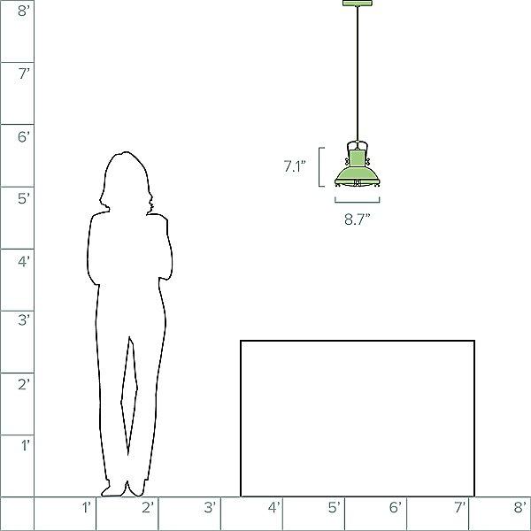 Projecteur Pendant Light