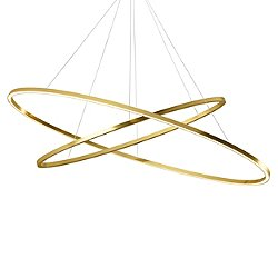 Ellisse LED Double Chandelier