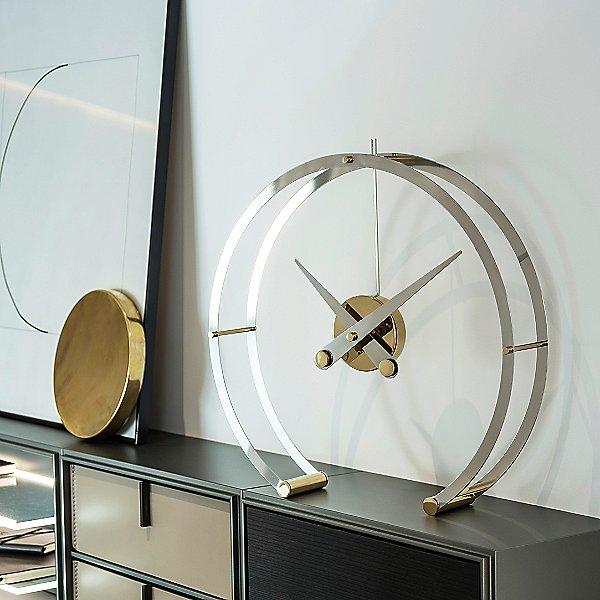 Omega Table Clock