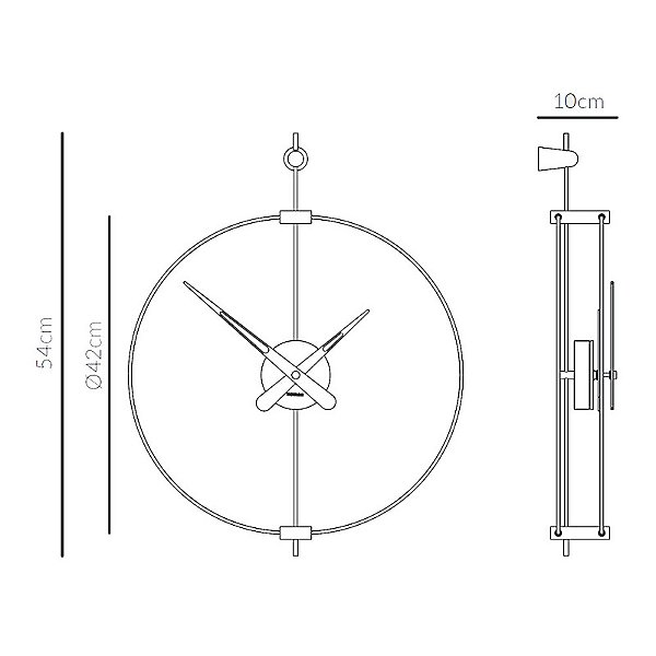 Micro Barcelona Wall Clock