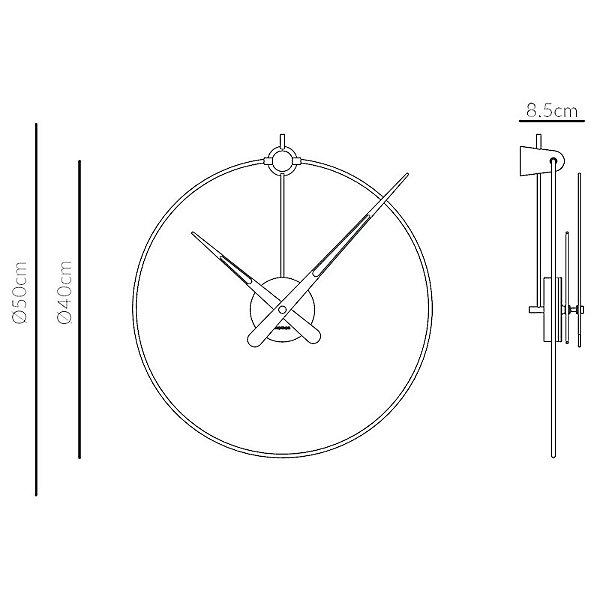 Micro Anda Wall Clock