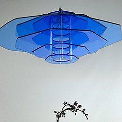 Orchid Pendant Light Exotic Plexiglass