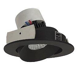 Pearl 4-Inch LED Round Cone Regress Adjustable Trim