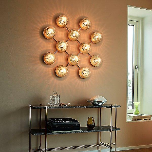 Liila 12 Light Wall / Flush Mount Ceiling Light
