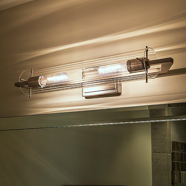 Faceted Vanity Light