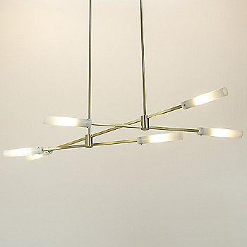 Brushed Brass finish / illuminated