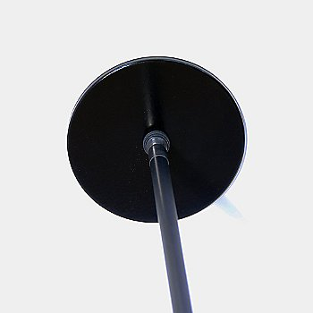 Brushed Black finish / Round canopy