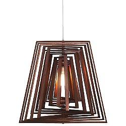 Selma Twist Trapezoid Suspension Light