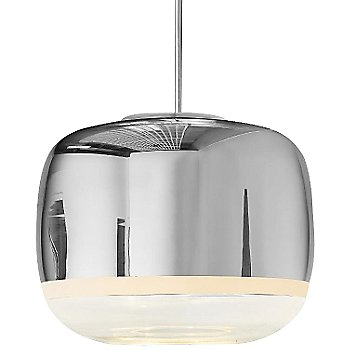 Shown in Silver Shade with Chrome Hardware