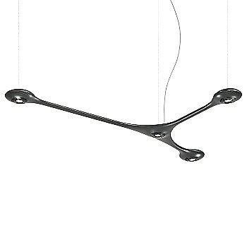 Carbon 2.5 Foot Chandelier