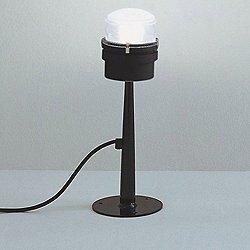 Fresnel Outdoor Floor Lamp