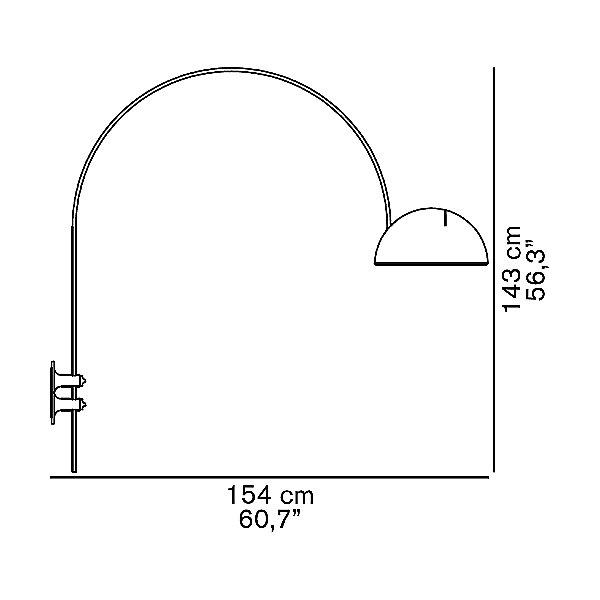 Coupe 1159 Swingarm Wall Sconce