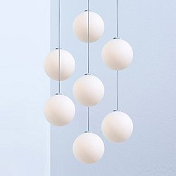 Glass 7-Light 120 Pendant Light