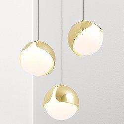 Ohm 3 Multi-Light Pendant Light