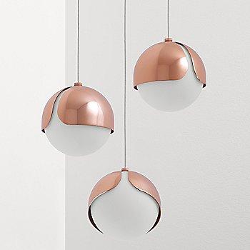 Polished Copper finish, not illuminated