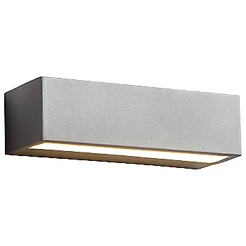 Shown lit in Grey finish, 10 inch