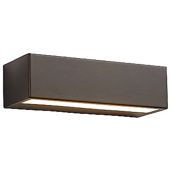 Shown lit in Oiled Bronze finish, 10 inch