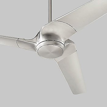 Satin Nickel Fan Body with Satin Nickel Blade finish