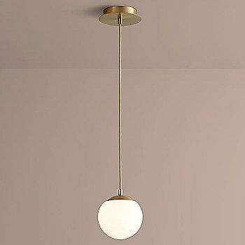 6 inch / Aged Brass finish / illuminated