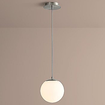 8 inch / Satin Nickel finish / illuminated