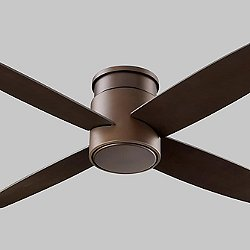 Oslo Flushmount Ceiling Fan (Oiled Bronze) - OPEN BOX RETURN