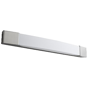 Shown unlit in Satin Nickel finish, 28 Inch, unlit
