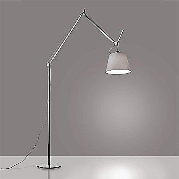 14 inch size / Pale Grey shade / Aluminum finish