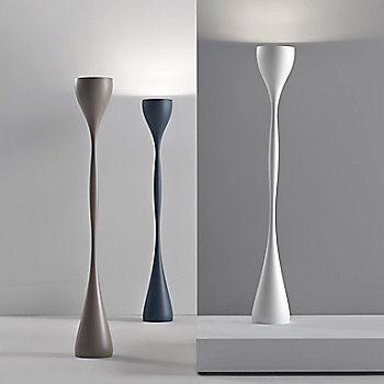 White with Blue and Beige finish / in use / illuminated