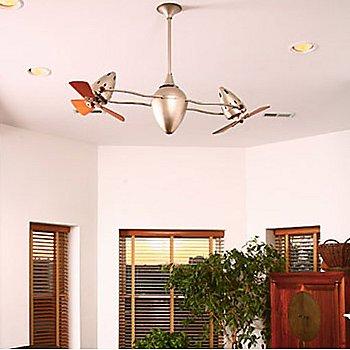 Ar Ruthiane Rotational Ceiling Fan, in use