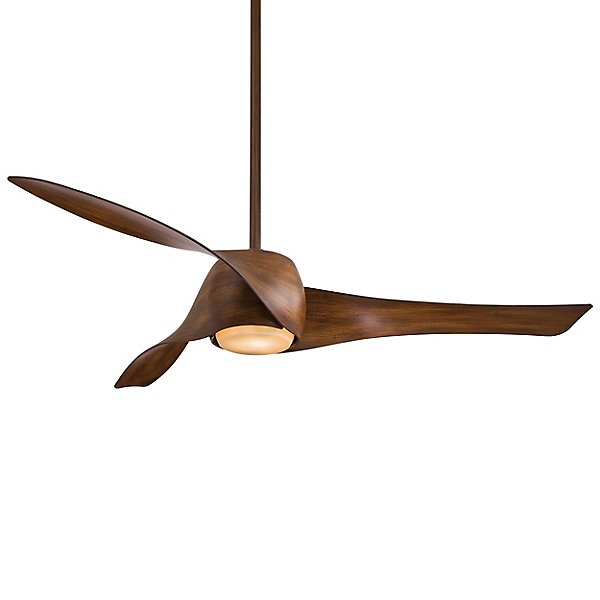 wood tone ceiling fan
