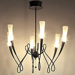 Virgins Six Light Chandelier
