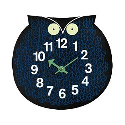 Zoo Timer - Nelson Omar the Owl Wall Clock